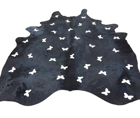 Cowhide Design Rug | Zebrafly