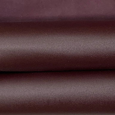 Caviar Leather | Aubergine | 1sqft Panel