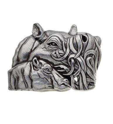 3D Belt Buckle | Hippo Design