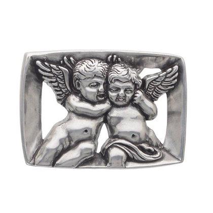 3D Belt Buckle | Angel Cherub Design