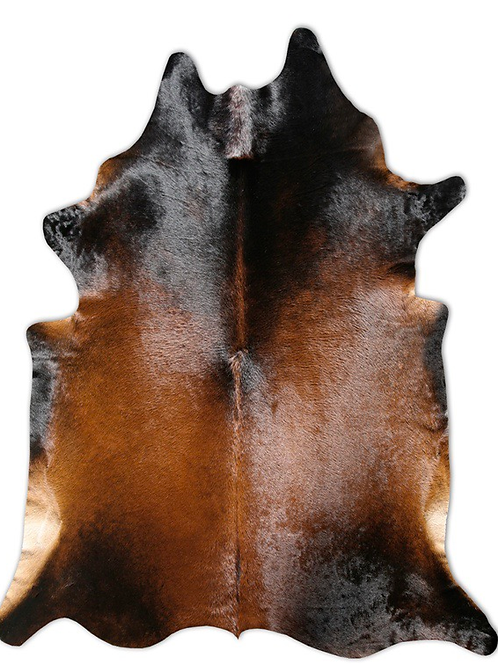 Cowhide Rug | Brown Normand