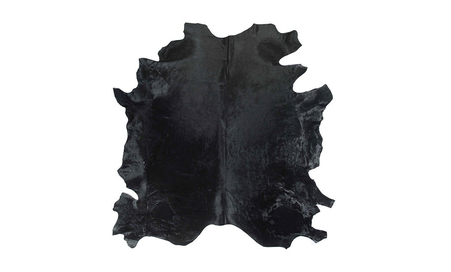 Italian Dyed Cowhides | Black