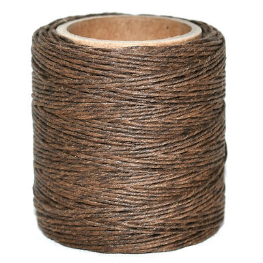 Waxed Polycord   Gold Brown   Maine Thread