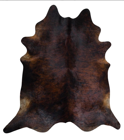 Cowhide Rug | Dark Brindle