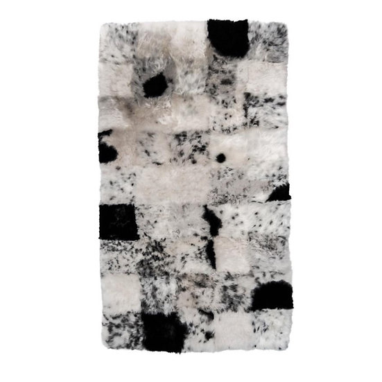 Sheepskin Design Rug | Spotted Shorn