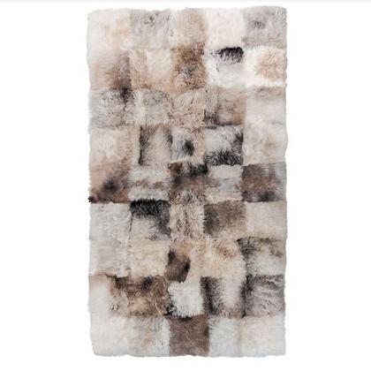 Sheepskin Design Rug | Melange Shorn