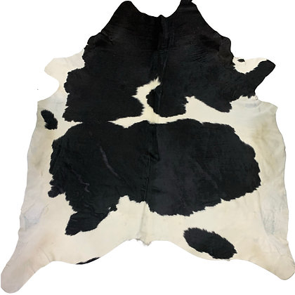 Cowhide Rug | Black and White | XL | 10125