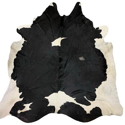 Cowhide Rug   Black and White   XL   10110