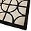 Thumbnail: Patchwork Cowhide Rug   Dark Brown and Ivory  180 x 180c