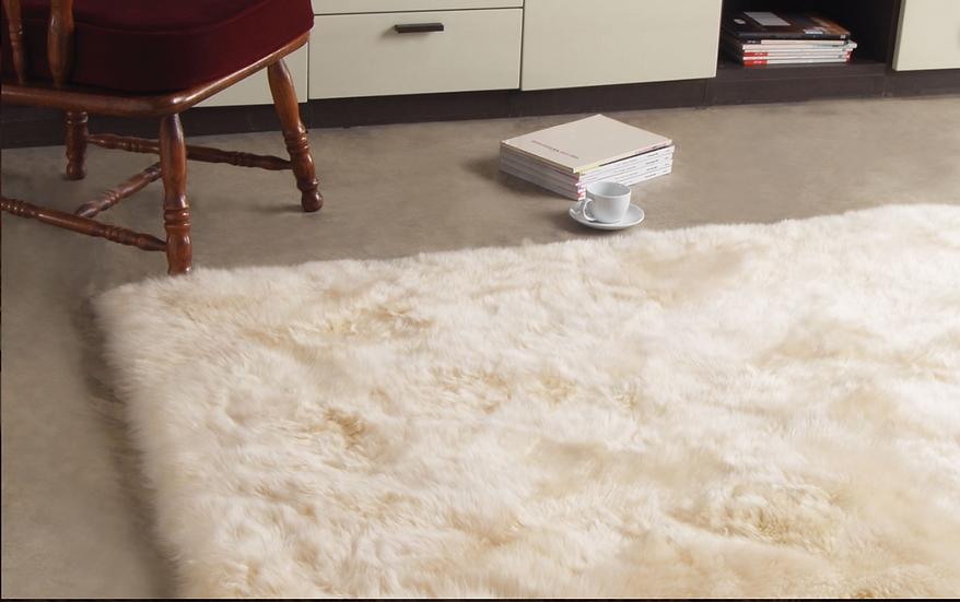 Sheepskin Design Rug | Longwool Rectangle