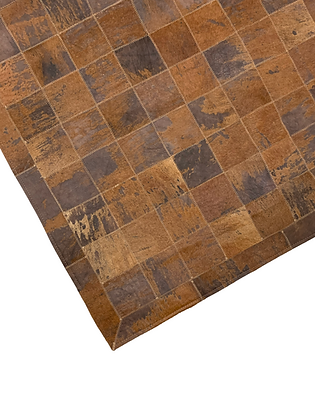 Patchwork Cowhide Rug | Acid Wash 100 x 150cm