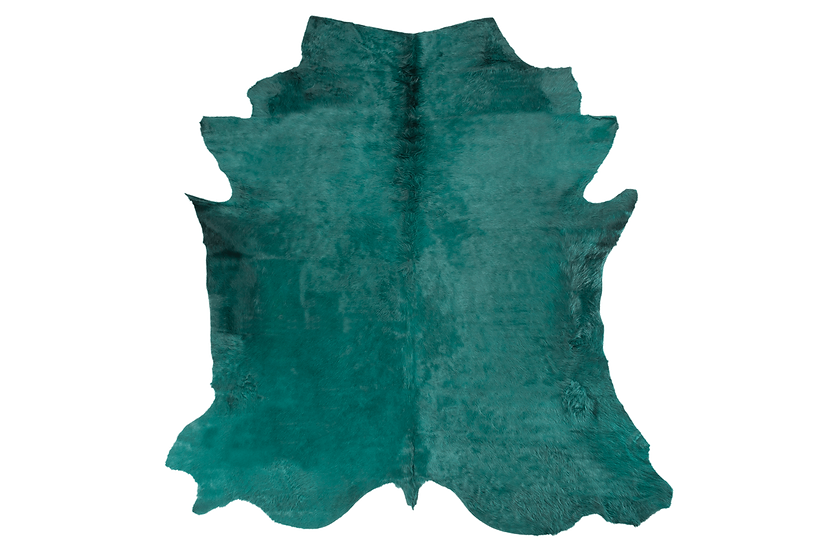 Italian Dyed Cowhides | Emerald