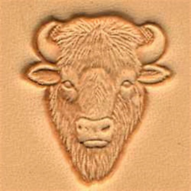 Tandy Leather   Buffalo Head 3-D Stamp   88458-00