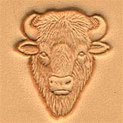 Tandy Leather | Buffalo Head 3-D Stamp | 88458-00
