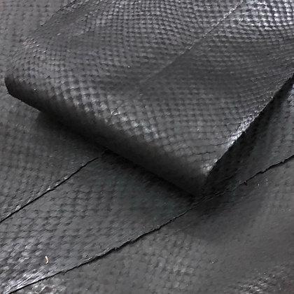 Salmon  Leather Smooth Finish   Matte Black