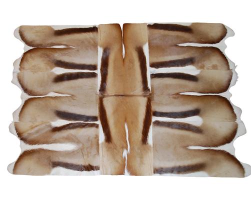Patchwork Springbok Rug