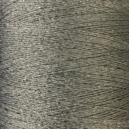 Silver metallic sewing thread