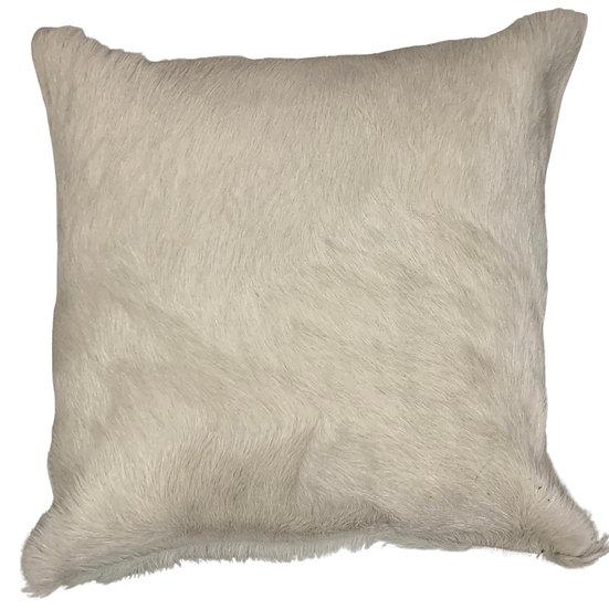 Cowhide Cushion | Soho  | Ivory