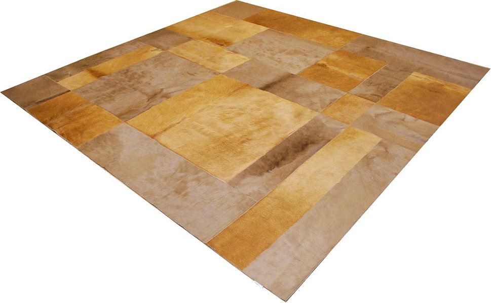 Cowhide design rugs Pannello