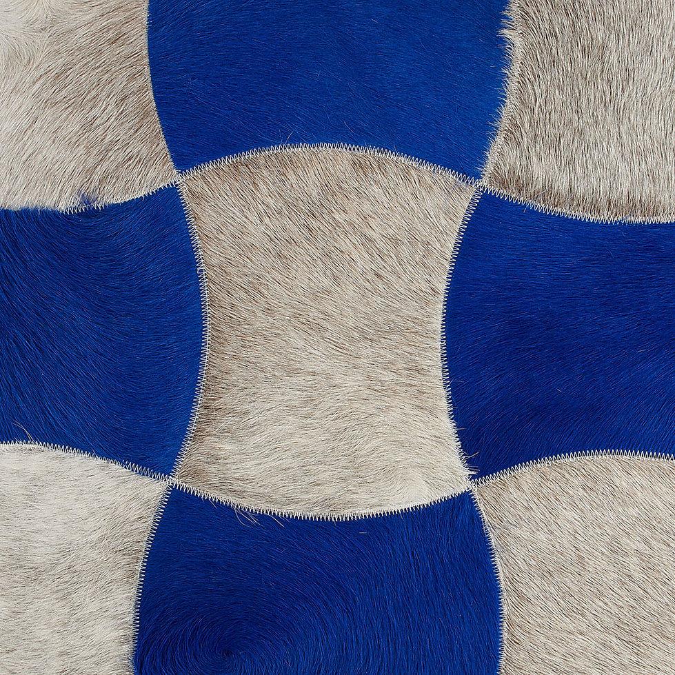 Convex Cowhide Design Rug