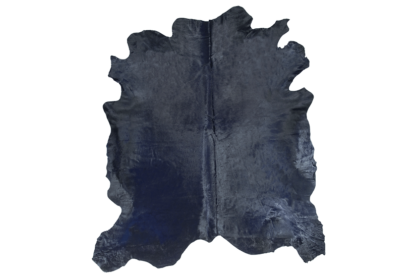 Italian Dyed Cowhides | Dark Navy