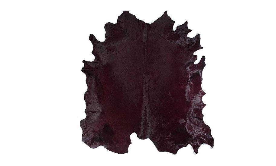 Italian Dyed Cowhides | Bordeaux