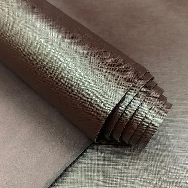 Saffiano Leather | Raisin