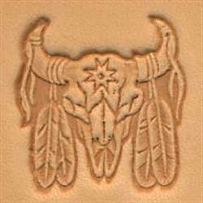 Tandy Leather   Indian Skull Stamp   88436-00