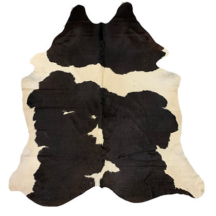 Cowhide Rug | Black and White | L | 10117