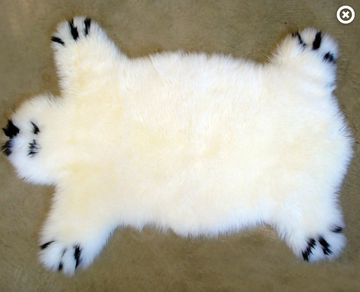 Sheepskin Rug | Bear Play Rug