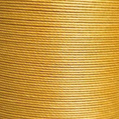 Meisi Waxed Linen Thread   Fine Gold   MS061