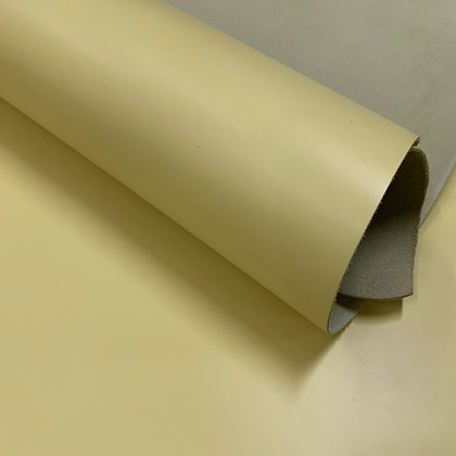 Smooth EPI Leather | Light Yellow | Sample Panel
