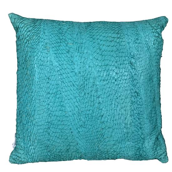 Perch Fish Leather Cushion