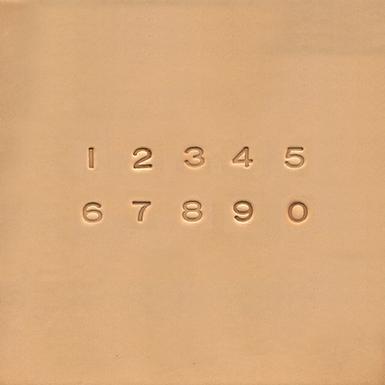 "1/4"" Number Stamp Set   4904-00   Ivan"
