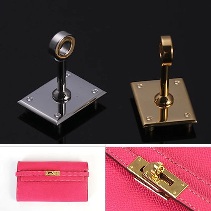 Stainless Steel Rectangle Turn/Twist Lock for Bags
