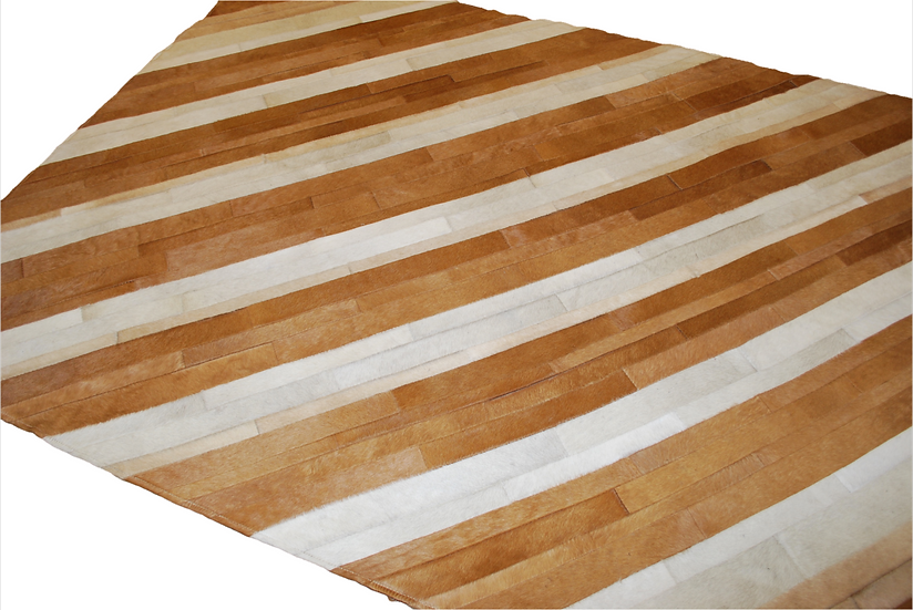 Patchwork Rug | Stripes | 155 x 190cm