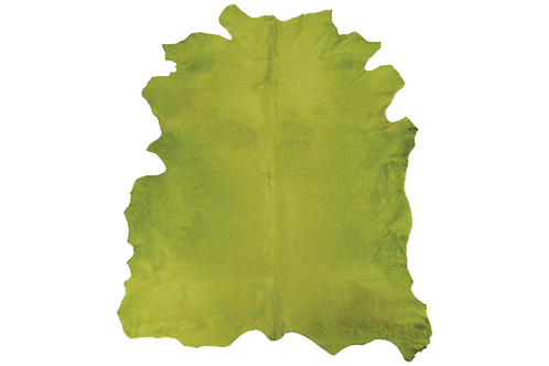 Italian Dyed Cowhides   Light Green