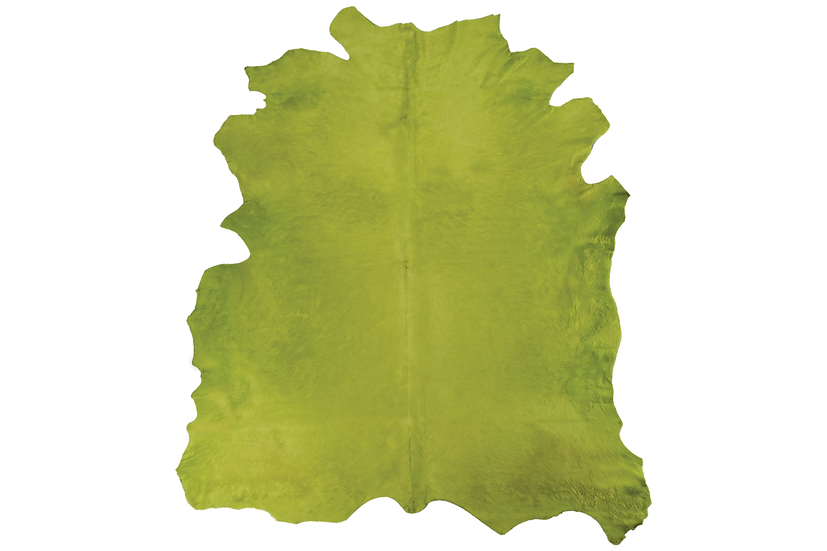 Italian Dyed Cowhides | Light Green
