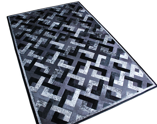 Cowhide Design Rug   Connection