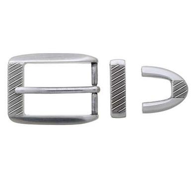 Jeans Belt Buckle 30mm | 3  Piece Set