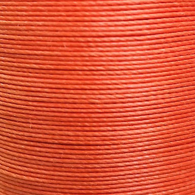 Meisi Superfine Waxed Linen Thread   Orange   MS014