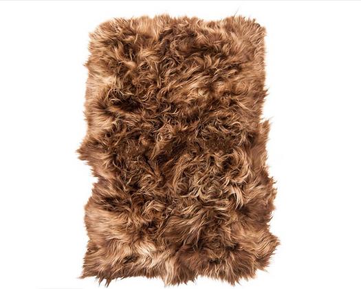 Sheepskin Design Rug | Rusty Briza | Natural Edges