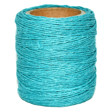 Waxed Polycord   Turquoise   Maine Thread