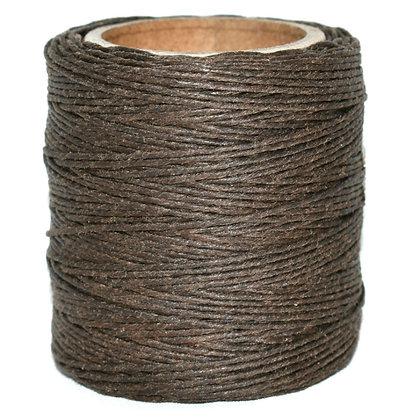 Waxed Polycord | Brown | Maine Thread
