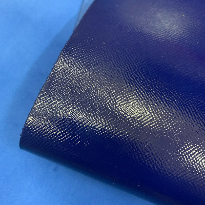 High Gloss Epsom Leather | Electric Blue