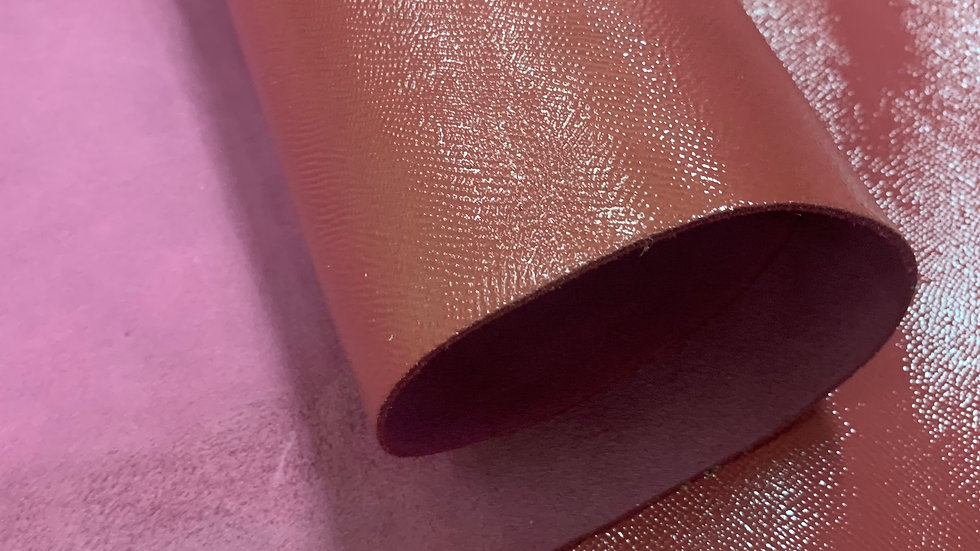 High Gloss Epsom Leather    Orchid