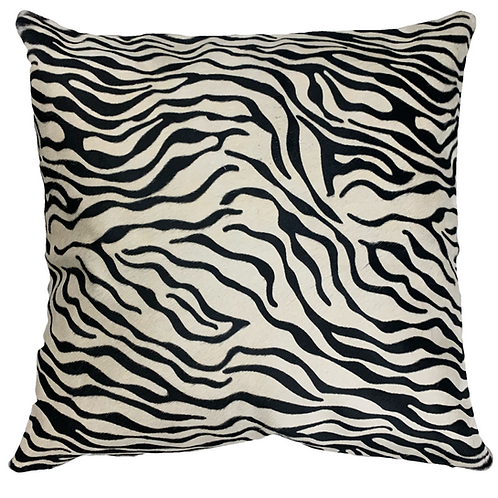Cowhide Pillow | Mini Zebra | 60cm x 60cm