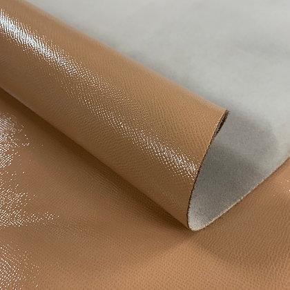 High Gloss Epsom Leather | Peach