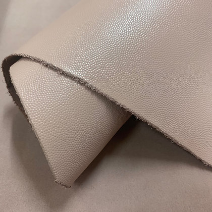 Caviar Grain Leather   Light Pink   By the Sqft