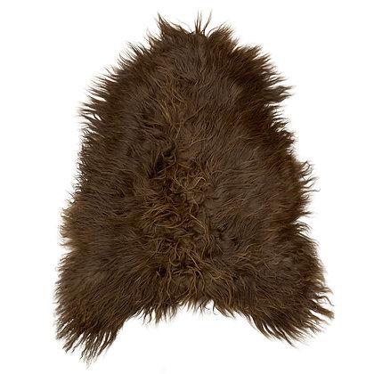 Icelandic Sheepskin   Natural Rusty Brown